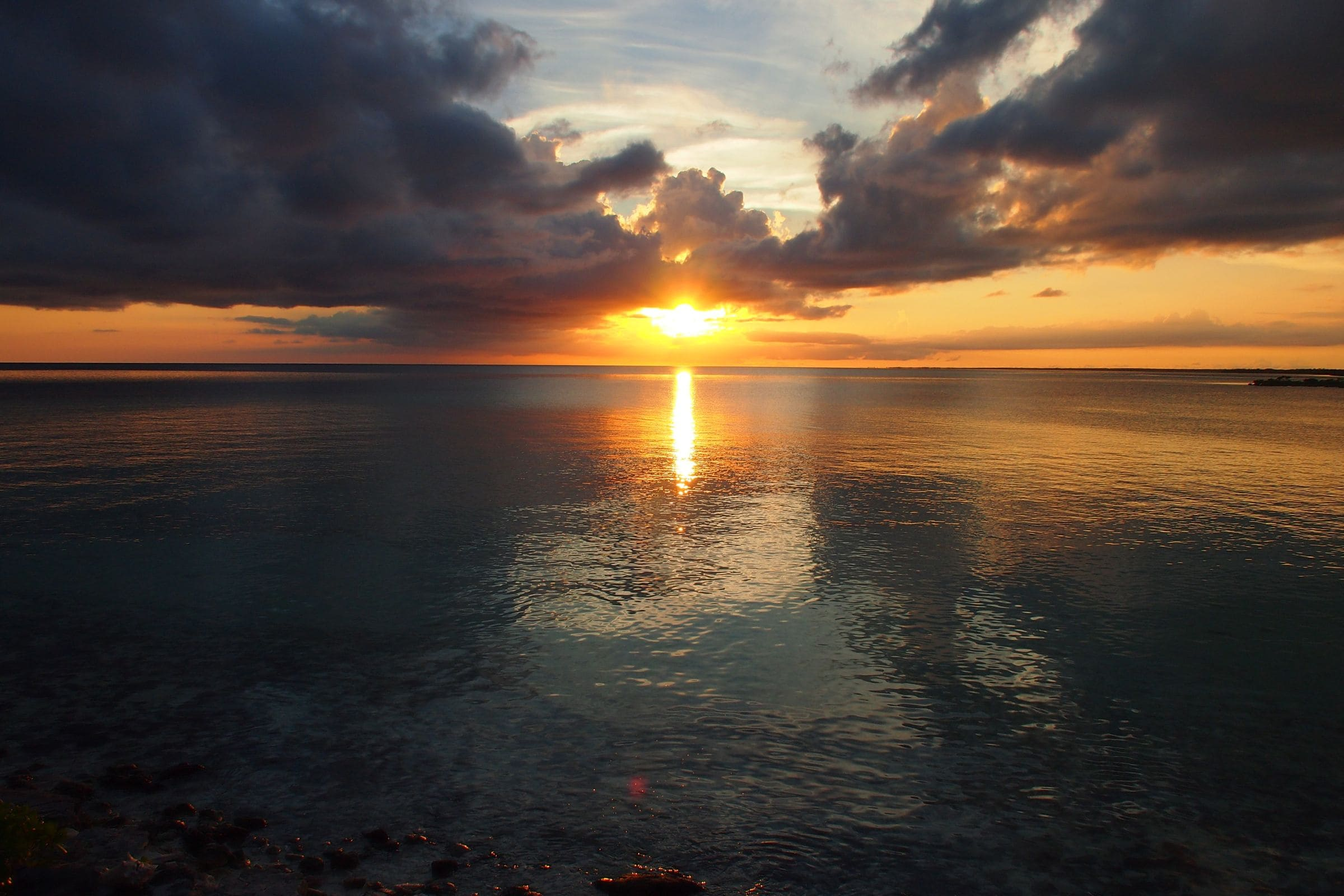 Undeniably Alluring Sunsets of Deep Water Cay, The Bahamas